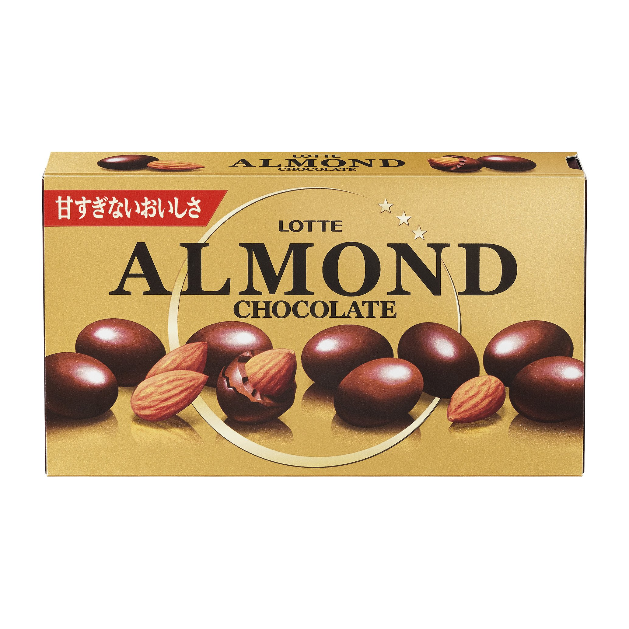 Lotte almond chocolate 86gX10 boxes