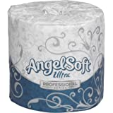 "Georgia-Pacific Angel Soft Ultra Professional Series, 16560, White, 2-Ply Premium Embossed Toilet Paper, 4.05"" Length x 4.5"" Width (Case of 60 Rolls, 400 Sheets Per Roll)"