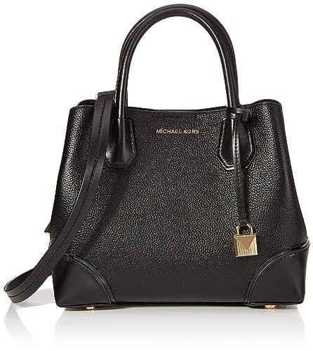 15eafe33b0 Michael Kors femme Satchel Cabas Noir (Black): Amazon.fr: Chaussures ...