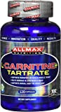 ALLMAX L-CARNITINE L-TARTRATE, 120 Capsules Supplying 500mg L-Carnitine, Vegan and Gluten Free Dietary Supplement