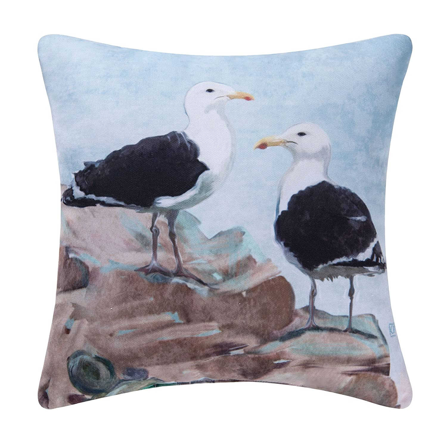 18x18 Inches, Seagulls Pillow