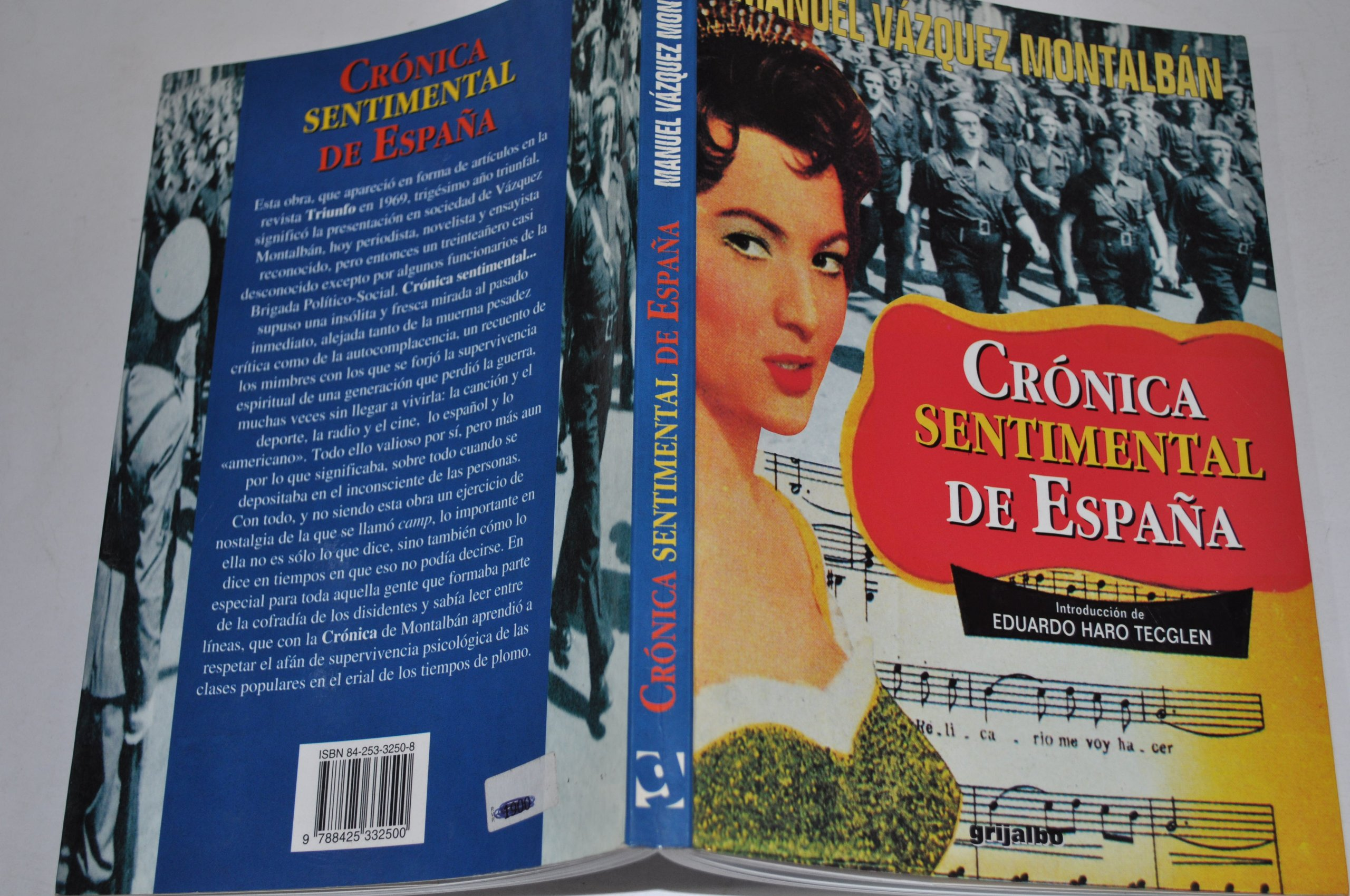 Cronica sentimental de España: Amazon.es: Manuel Vazquez Montalban: Libros