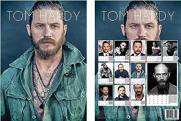el regalo perfecto de cumplea/ños o Navidad Tom Hardy The Venom /& Taboo Star 2021 Hollywood Idols A3, tama/ño A3 Calendario de encuadernaci/ón