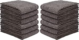 1 Dozen Textile Moving Blankets | Cut Size 54x72 | Perfect Choice of Moving Pads for One Time Moves & Storage from New Haven Moving Equipment