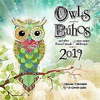 Owls - Connie Haley 2019 Calendar