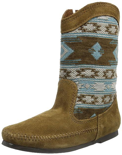 Minnetonka Women's Baja Boot Turquoise Suede Size ...