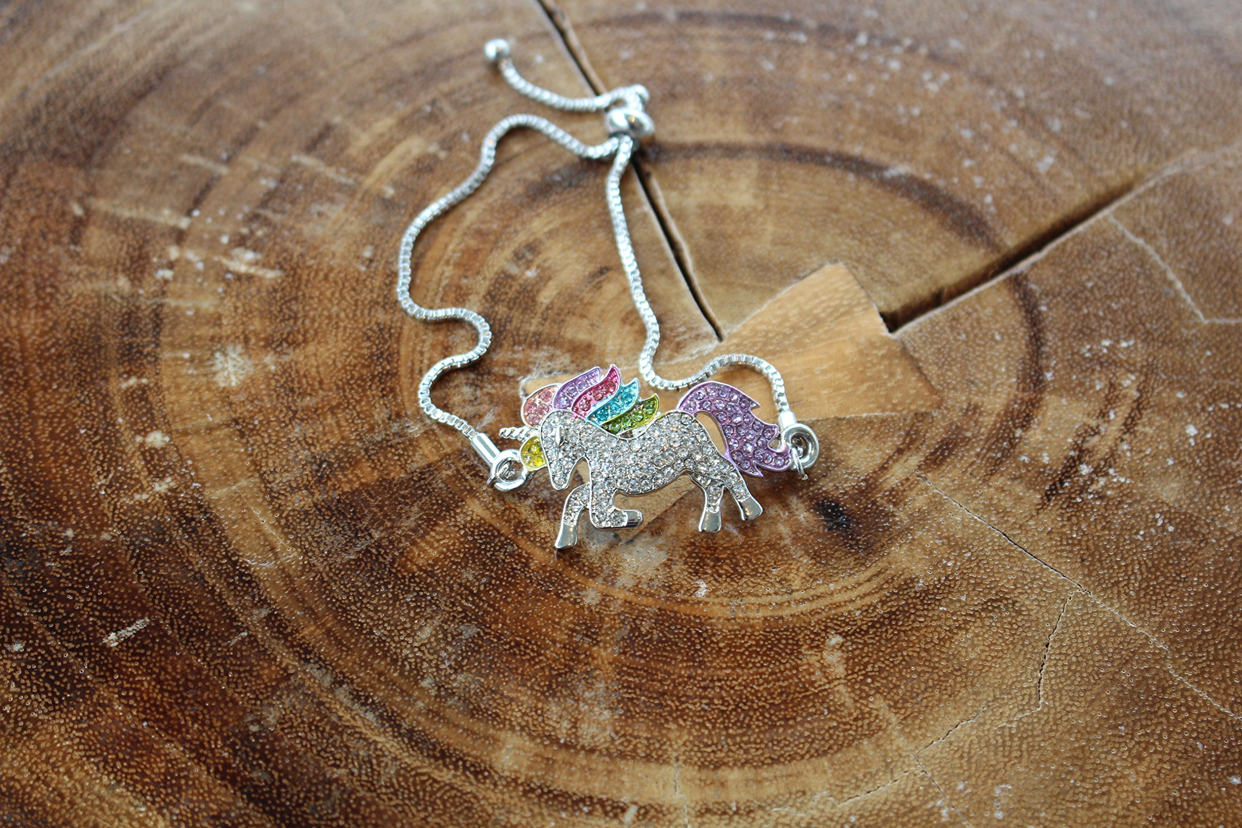 Persona Model Agency Unicorn Necklace - Rainbow Unicorn Necklace for Girls - Unicorn Rainbow Necklace - GOD of Gifts 6