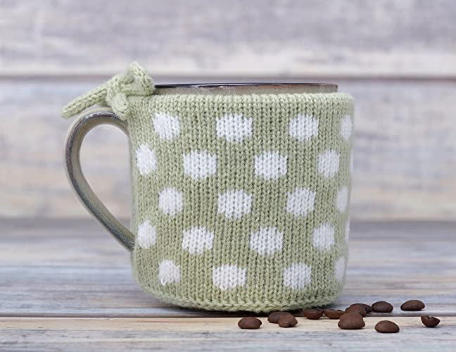 Amazon Cup Sweater Sleeve Coffee Mug Warmer Knitted Tea Cosy
