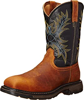 Amazon.com | Ariat Men&39s Workhog Wide SquareToe Western Work Boot