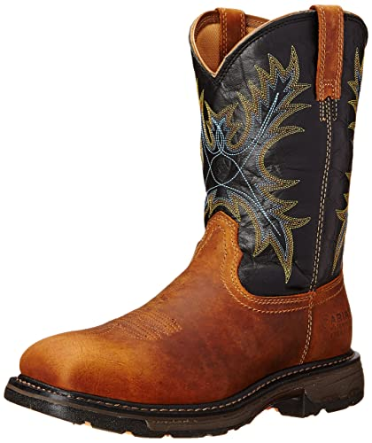 534dac341ad Ariat Men's Workhog Wide Square Toe H2O Steel Toe Work Boot