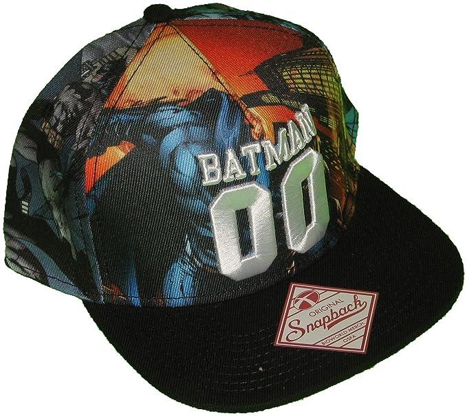 f5909914cc1 Amazon.com  Batman Hot Topic 00 Baseball Cap One Size Multi-Colored ...