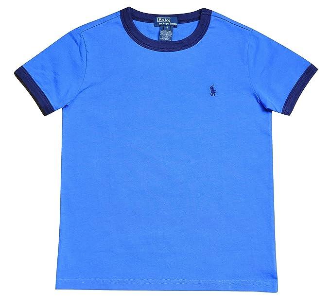 ralph lauren bambino  Polo Ralph Lauren T-Shirt Ralph Lauren Bambino Maniche Corte Blu E ...