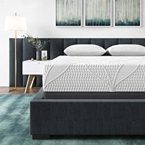 Classic Brands Cool Gel 2.0 Ultimate Gel Memory Foam 14-Inch Mattress with BONUS Pillow, Twin XL