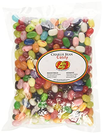 Amazoncom Jelly Belly Jelly Beans Assorted 1 Pound Grocery