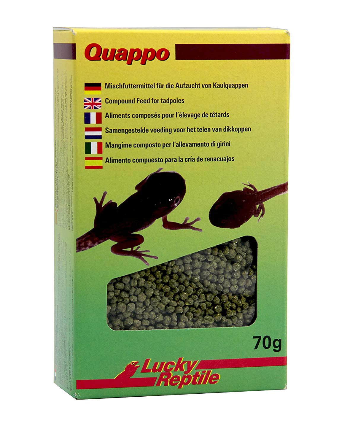 Lucky Reptile Quappo 70 g, 2er Pack (2 x 70 g) QF-70