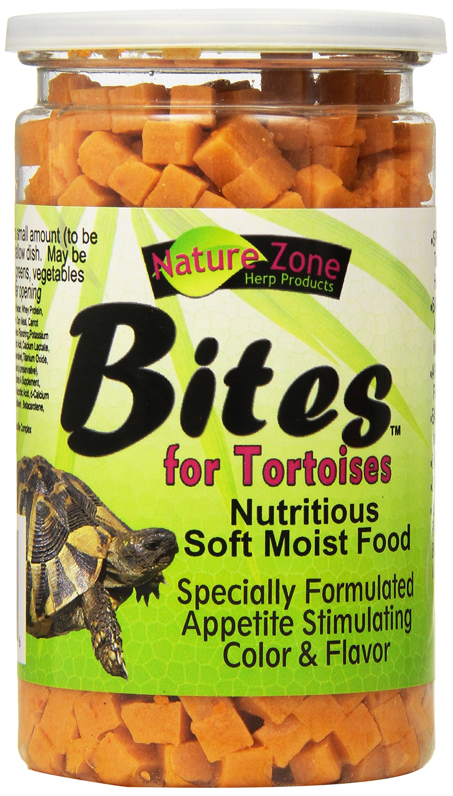Nature Zone Snz54661 Melon Flavored Total Bites Soft Moist Food For Tortoise, 9-Ounce