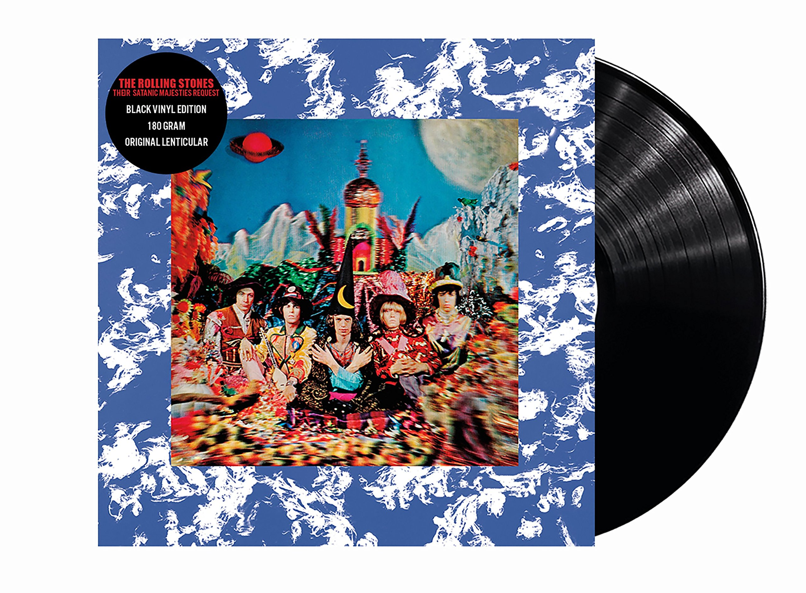 Vinilo : The Rolling Stones - Their Satanic Majesties Request (Limited Edition, 180 Gram Vinyl)