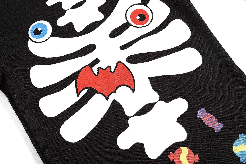 Little Boys Halloween Pajamas Glow in The Dark Skeleton Pjs Children Ghost Sleepwear