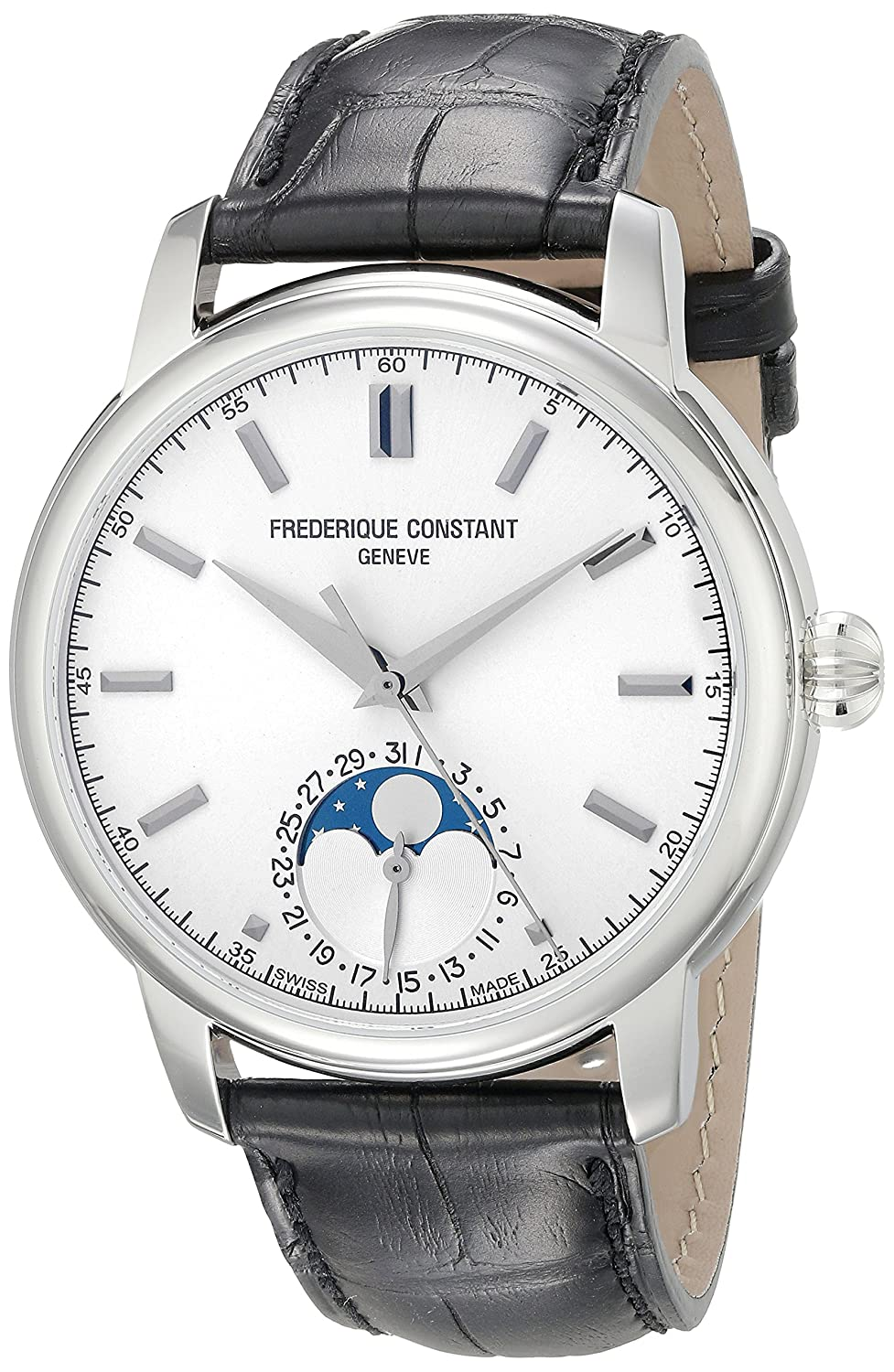 Frederique Constant Men s FC715S4H6 Classics Analog Display Swiss Automatic Black Watch