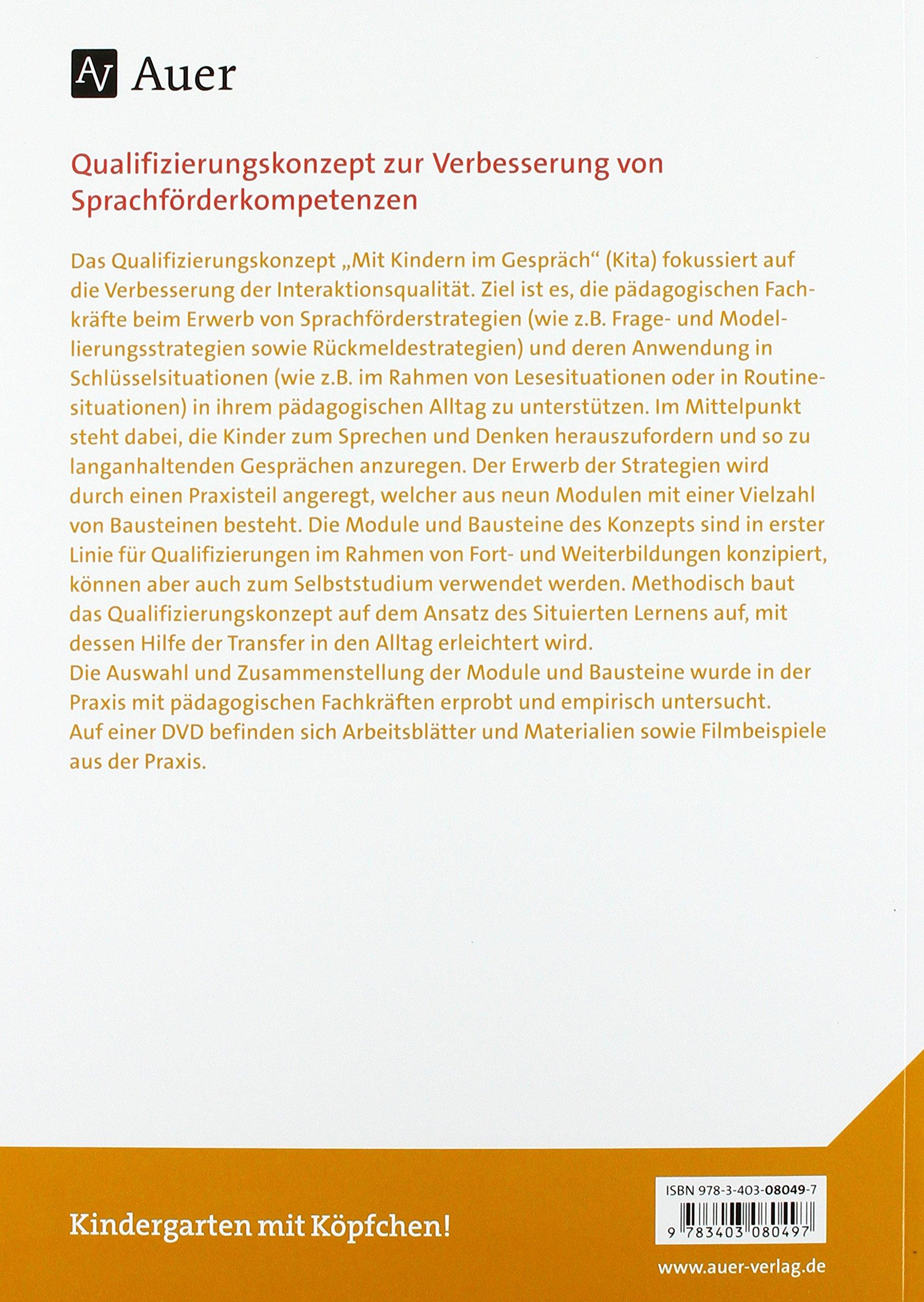Mit Kindern im Gespräch Kita: Strategien zur Sprachbildung und ...