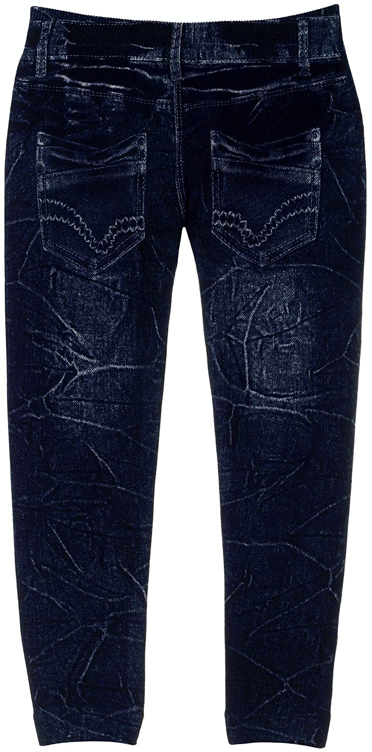 Crush Girls Stretch Fit Jeggings with Realistic Look and Feel Wrinkled Style Jeggings