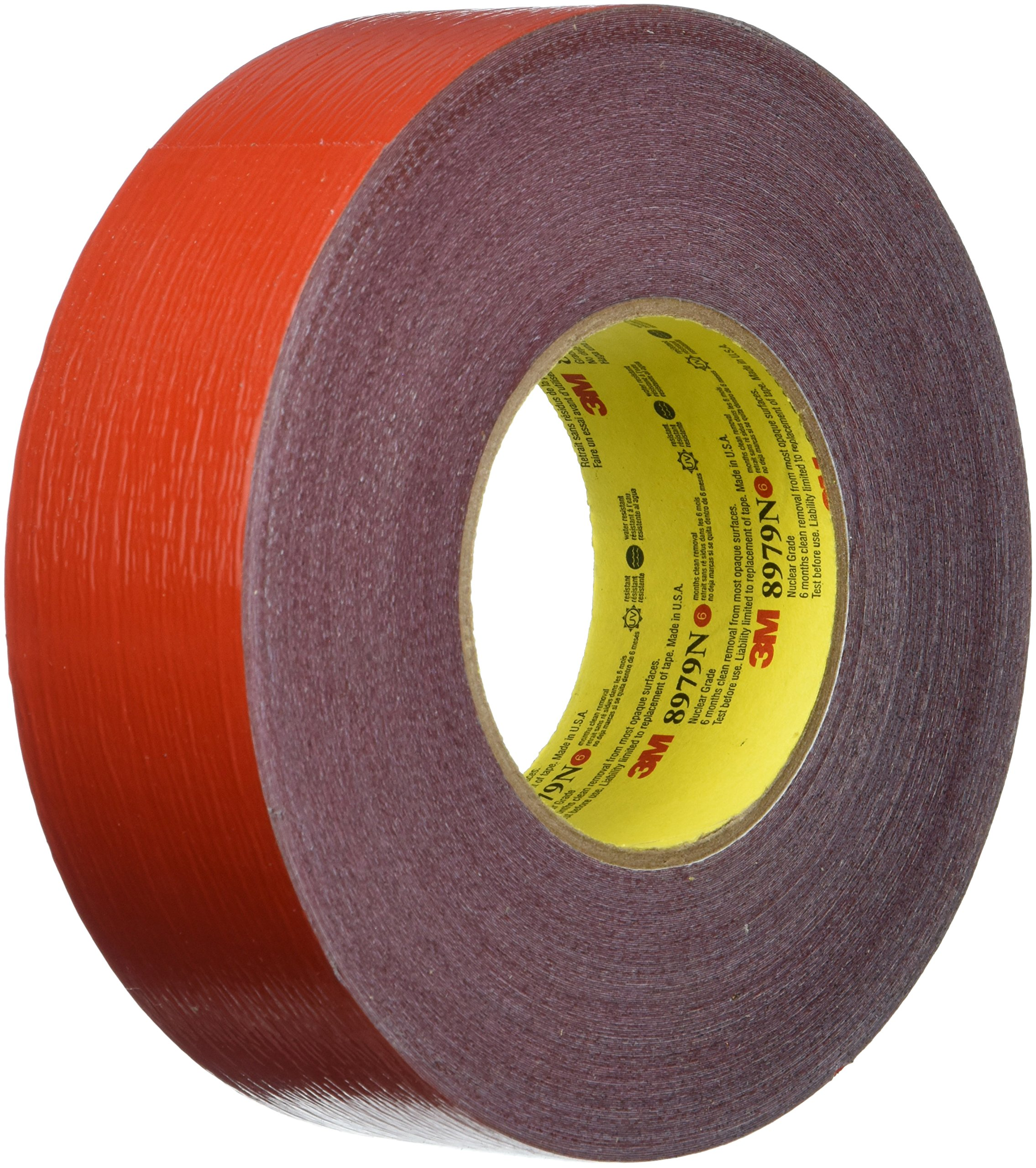 3M 8979N Performance Plus Nuclear Duct Tape, 48mm-by-54m, Red