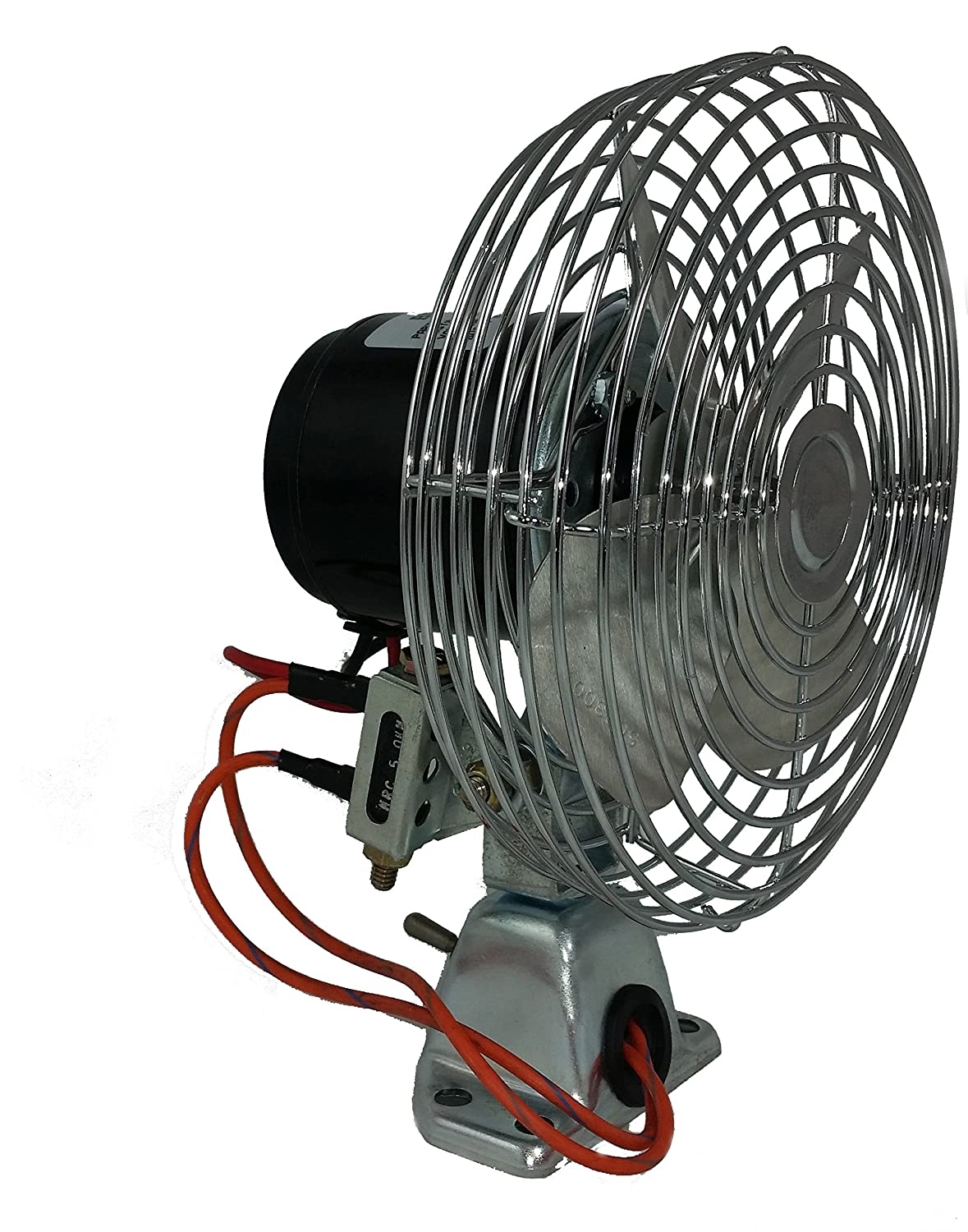 SM24HD 24 Volt Dc Heavy Duty Retro-fit Cab Fan BERGSTROM