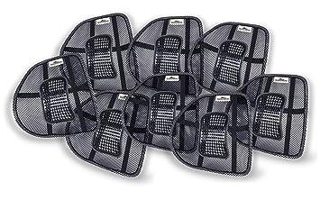 Donnerberg Original Respaldo Lumbar Ergonómico - Soporte Lumbar para sillas de Oficina Asientos de Coche -