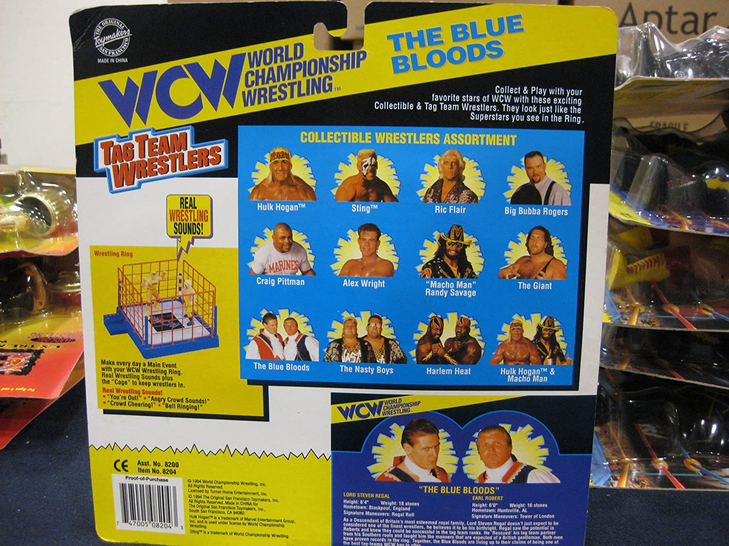 Just Like Home Toy Set : Amazon.com: wcw tag team wrestling blue bloods distributed by
