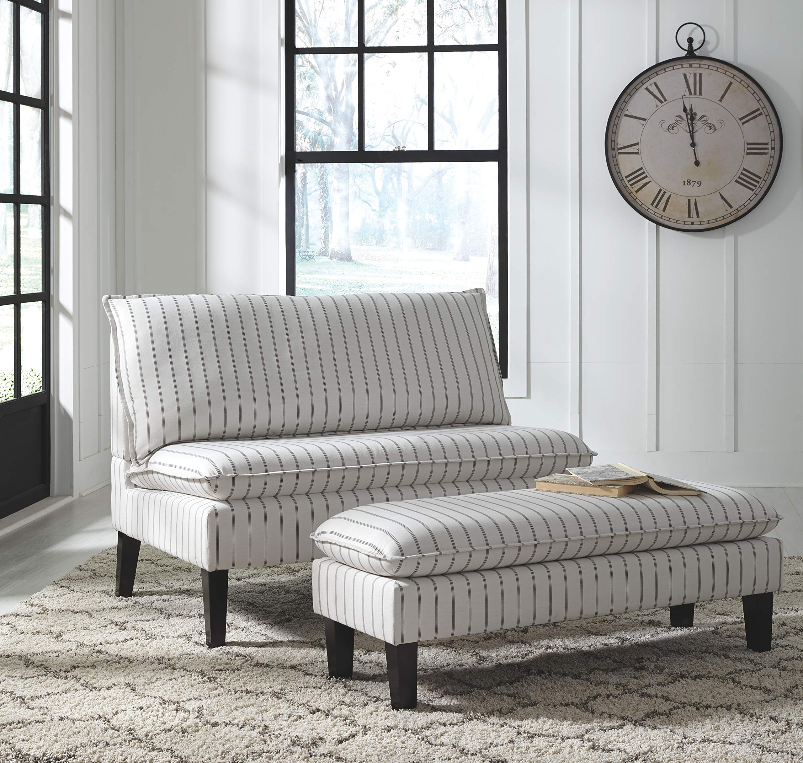 Signature Design by Ashley A3000112 Arrowrock Accent Bench, Settee by Signature Design by Ashley (Image #3)
