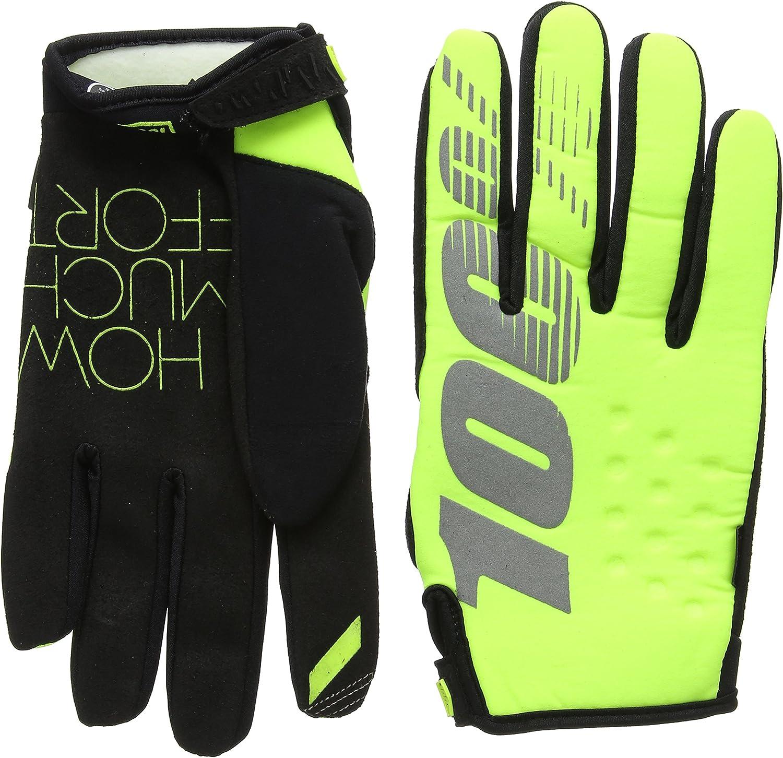 100/% Brisker Womens Glove Gants Homme