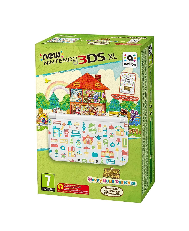 Amazon.com: New 3DS XL + Animal Crossing: Happy Home ...