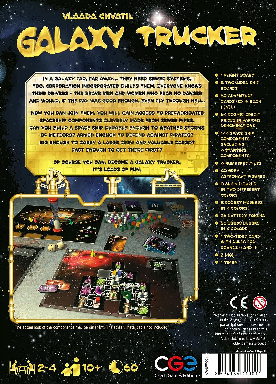 f37f5ae9ae2ee Galaxy Trucker Board Game - English Version  Vlaada Chvatil  Amazon.co.uk   Toys   Games