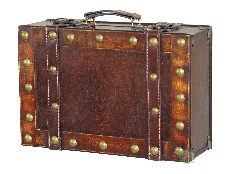 Vintiquewise, Koffer im Antik-Stil, klein, Braun Quickway Imports QI003067
