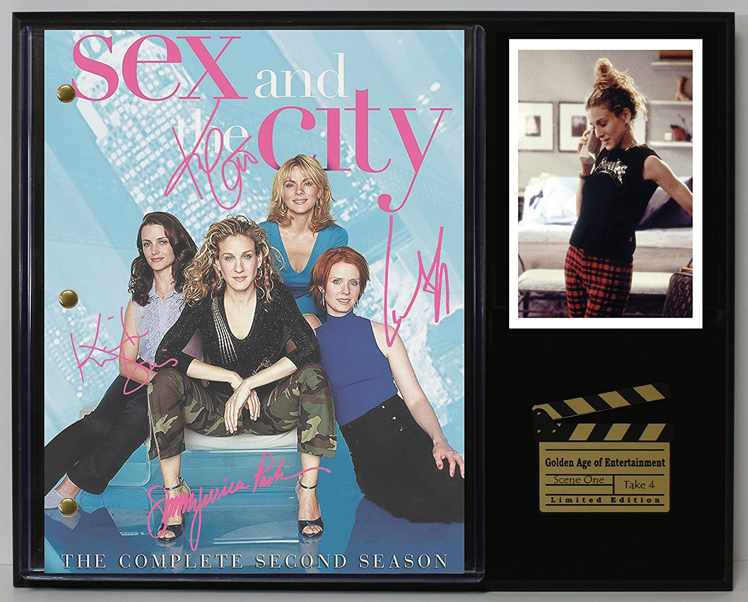 Sex In The City Ltd Edition Reproduction Television Script Display C3