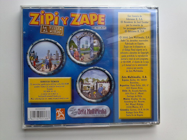 ZIPI Y ZAPE, LA VUELTA AL MUNDO: Amazon.es: Videojuegos