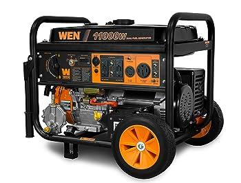 WEN DF1100T Dual Fuel Portable Generator