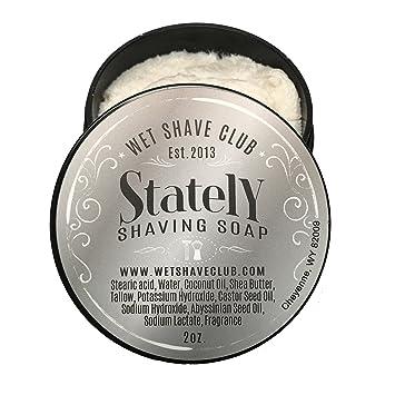 Amazon Com Wet Shave Club For Men Stately Shaving Soap High