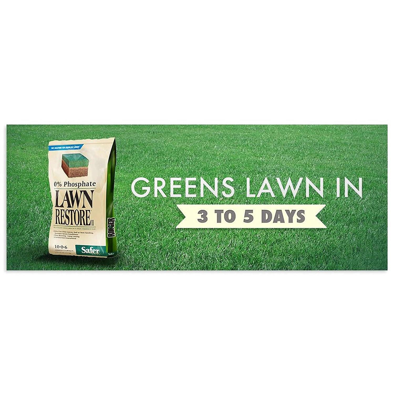 safer brand ringer lawn restore lawn fertilizer 25