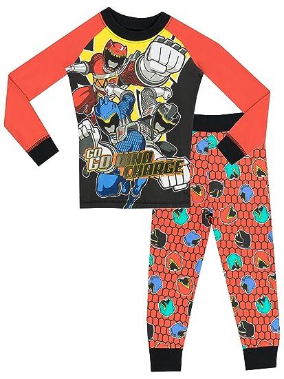 e520fe7ad469 Amazon.com  Power Rangers Boys  Power Rangers Pajamas Size 10  Clothing
