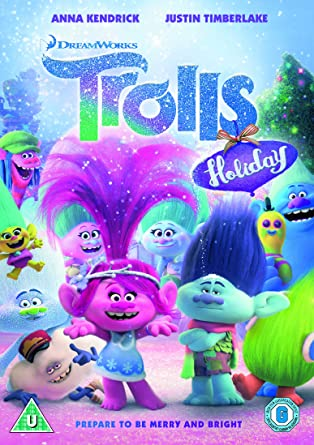 Trolls Holidays Dvd >> Trolls Holiday Dvd Amazon Co Uk Joel Crawford Holly Edwards