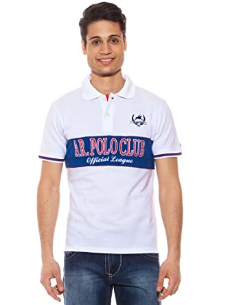 AR Polo Polo Bicolor Blanco 3XL: Amazon.es: Ropa y accesorios
