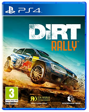 Dirt Rally PS4 Amazoncouk PC Video Games
