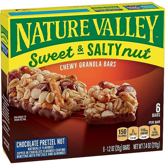 Top 10 Nut Chocolate Pretzel Nature Valley