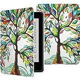 Capa Case Kindle Paperwhite WB Auto Liga/Desliga - Ultra Leve Árvore