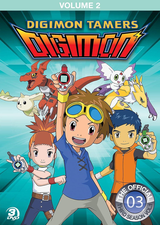 Digimon Tamers Volume 2 3 Dvd Edizione: Stati Uniti Italia: Amazon.es: Cine y Series TV