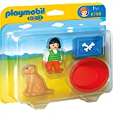 Playmobil 6796 1.2.3 Girl with Dog