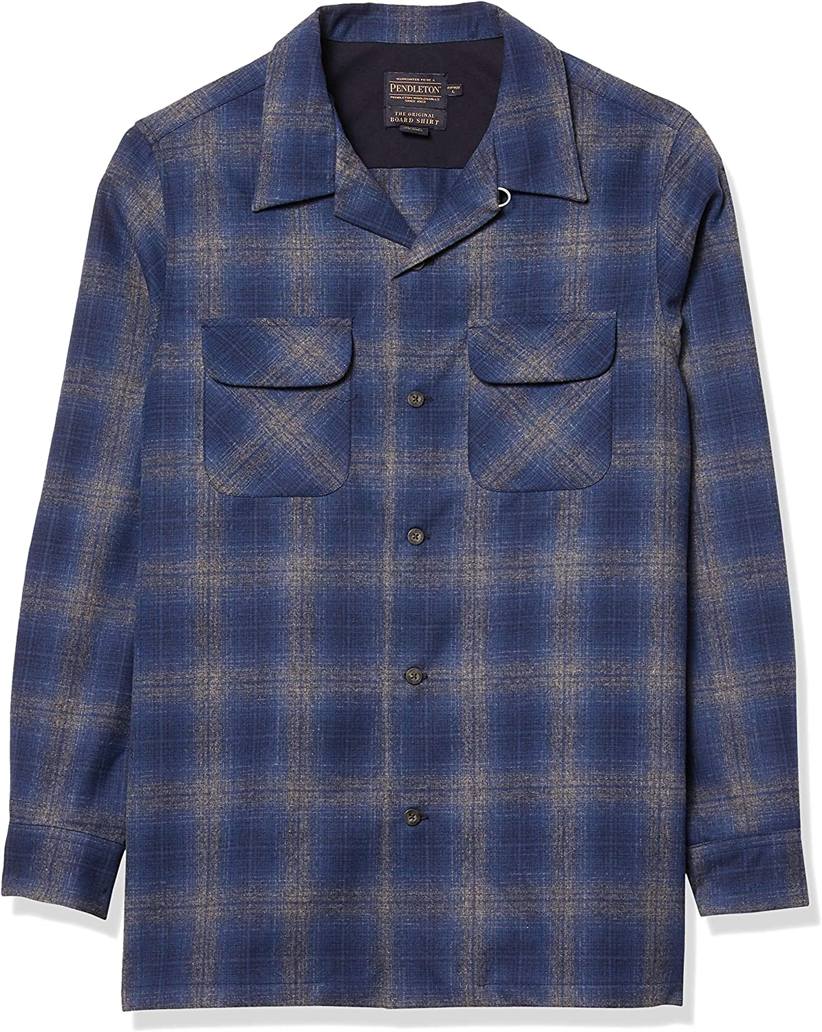 Pendleton, Men's Long Sleeve Fitted Board Shirt