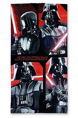 Disney Star Wars Toalla 70 x 140 cm Toalla de playa, algodón, 821-