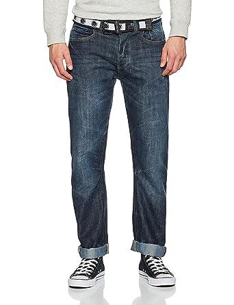 Looking For Online Genuine Online Mens New Baltimore Straight Jeans Crosshatch Cheap Ebay Geniue Stockist Online V5jWPSJF